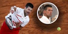 Djokovic legt sich mit Federer-Fan auf der Tribüne an