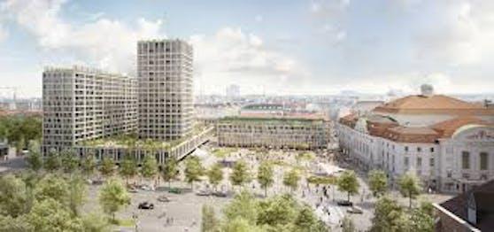 """Seit 2017 steht die Stadt Wien wegen dem Heumarkt-Projekt auf der roten Liste der UNESCO. Ein """"positiver"""" Vorbericht lässt nun Hoffnung aufkommen, dass Wien 2022 wieder gestrichen wird."""