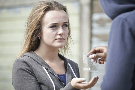 Eine Mutter sah sich gezwungen während der Pandemie mit Drogen zu dealen, um ihre Kinder über Wasser zu halten.