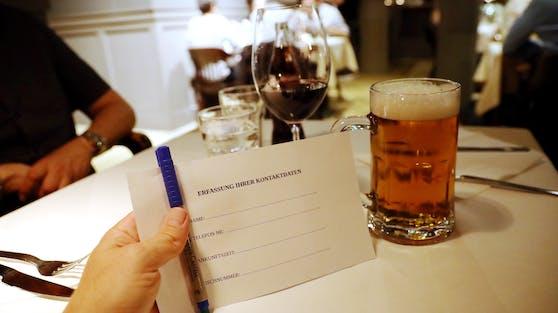 In Wien gilt die Registrierungspflicht seit Montag.