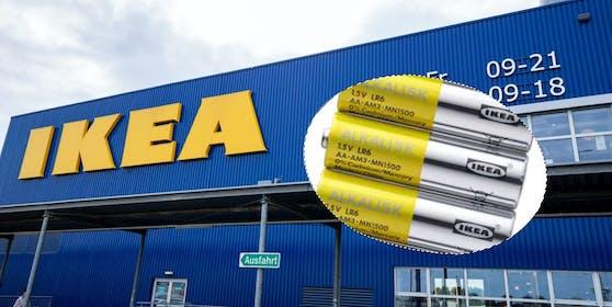 """Batterien raus! Für den Umweltschutz greift Ikea im Sortiment hart durch und schmeißt """"Alkalisk"""" (Bild) raus."""
