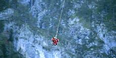 Bergsteiger (46) stürzt im Vomperloch 80 Meter ab
