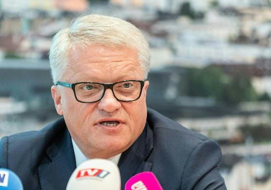 Der Linzer Bürgermeister Klaus Luger (SPÖ) lehnt die Gastro-Registrierungspflicht ab.