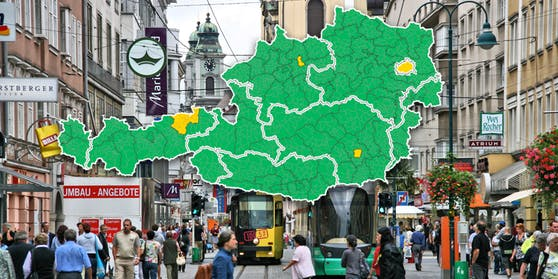 Linz steht besser da als andere Regionen, wurde aber schlechter bewertet.