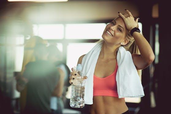 """Beim """"Jumping Fitness""""-Programm werden sämtliche Muskelpartien beansprucht."""