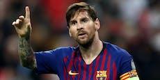 Messi behält Barca-Binde, ganze Elf soll noch gehen