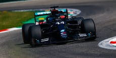 """Hamilton rast auch ohne """"Party Mode"""" zur Pole Position"""