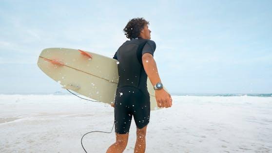 Huawei Watch GT 2e bietet Trackingoptionen auch für Sportarten wie Surfen.