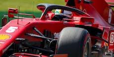 Ferrari-Blamage! Vettel in Q1 raus, schimpft auf Gegner