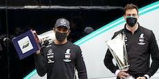 Hamilton witzelt über Red Bull, Wolff droht Konkurrenz