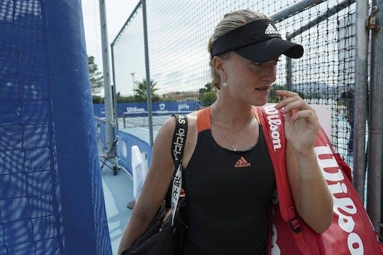 Thiem-Exfreundin Kiki Mladenovic wurde bei den US Open disqualifiziert.