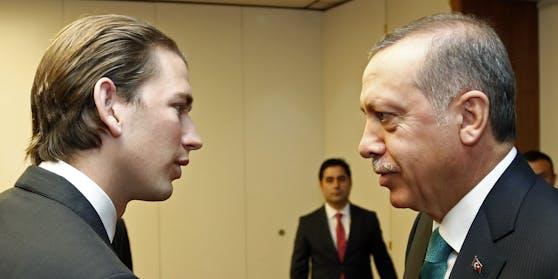 Kurz, Erdogan