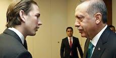 """""""Nicht akzeptabel"""": Kurz geht auf Erdogan los"""