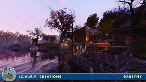 Areynys Dock am Fluss ist auf unserer Liste von Traumreisezielen ganz weit oben!