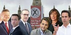 Der Fahrplan der TV-Duelle zur Wien-Wahl