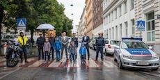 Polizei überwacht zum Schulstart 136 Schutzwege in Wien