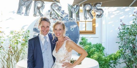 Mr. und Mrs: Martin Traxl und Ehefrau Gloria Hundsberger