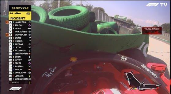 Schrecksekunde: Leclerc schlägt hart ein!