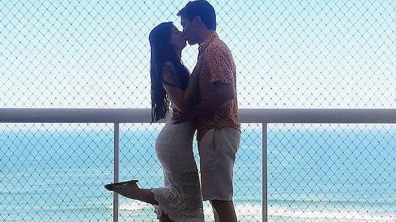 Larissa und ihr Verlobter Joao vor einigen Wochen, nichts ahnend welch trauriges Schicksal die beiden ereilen würde.