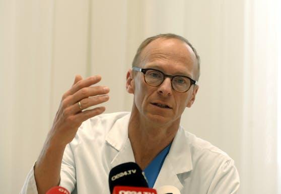 Mediziner Christoph Wenisch hat wenig Verständnis für Masken-Verweigerer.