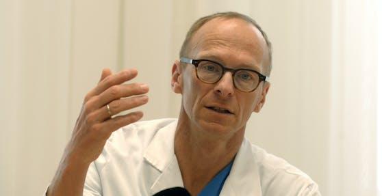 Christoph Wenisch, Leiter der Infektionsabteilung der Klinik Favoriten