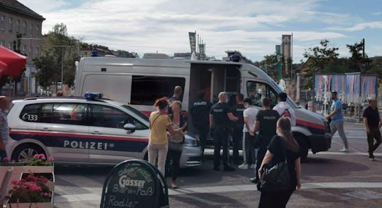 Die Jugendlichen wurden vor Ort festgenommen.