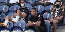 Tribünen-Aufreger: Ronaldo pfeift auf Maskenpflicht