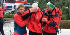 Vermisster Alpinist nach drei Tagen lebend geborgen