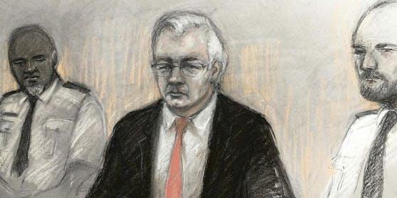Julian Assange kämpft vor Gericht gegen seine Auslieferung an die USA.