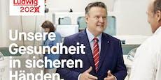 "SPÖ-Wahlplakate mit ""krisensicherem Stadt-Papa"""