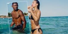 So sexy entspannt David Alaba im Strandurlaub