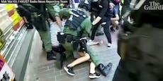12-Jährige von Polizei zu Boden gerissen & festgenommen