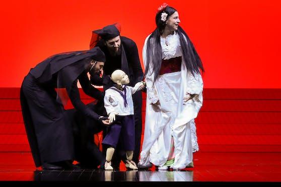 """Madama Butterfly"" feierte am Montag große Premiere in der Wiener Staatsoper."