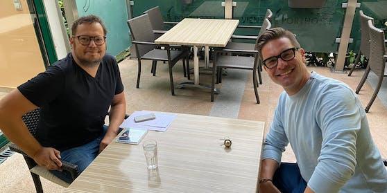 "Eloy de Jong im Schlager-Talk mit ""Heute""-Redakteur Jochen Dobnik"