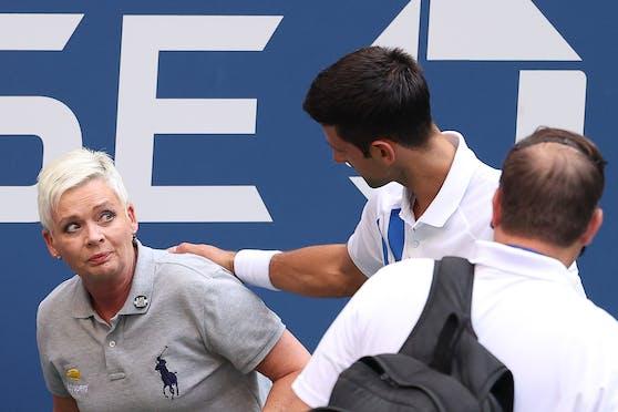 Novak Djokovic ergreift Partei für sein Eklat-Opfer.