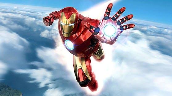 """Mit """"Heute"""" gewinnst du ein PS VR Starter Pack, 2 Move-Controller und Marvel's Iron Man VR (als Download-Code)."""