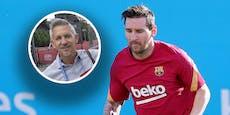 Lineker scherzt: Darum wollte Messi Barca verlassen