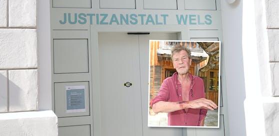 Ernst August sitzt derzeit in der JVA Wels.