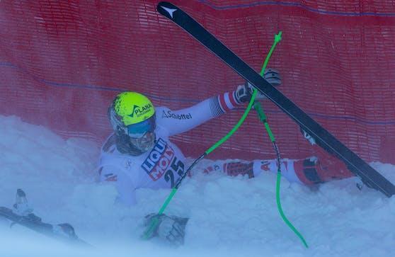 Ski-Ass Daniel Danklmaier hat sich am Knie verletzt.