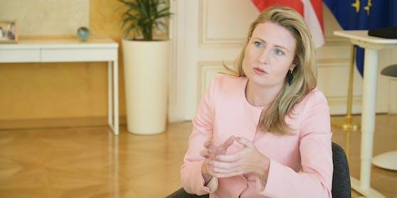 Integrationsministerin Susanne Raab (ÖVP)