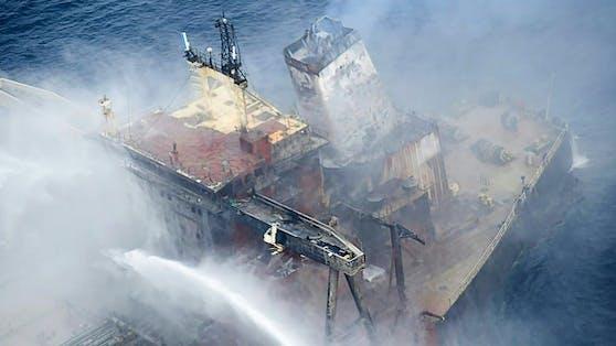 Die Auswirkungen des Brandes können noch nicht abgeschätzt werden.