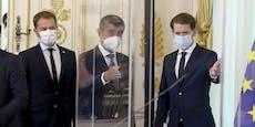 Fälle steigen! Kanzler trägt sogar schon indoor Maske