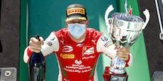 Mick Schumacher unmittelbar vor Formel-1-Debüt