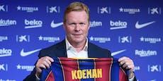 """Barca-Stars haben Spitznamen für """"Schleifer"""" Koeman"""