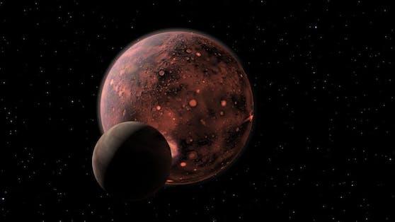 Auf der Suche nach außerirdischen Lebensformen entdeckten Wissenschaftler einen Baustein in einem Asteroiden.