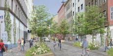 Grüner Plan für weniger Autos in Grätzl in Wien