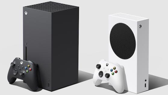 So sieht die neue Generation der Xbox Series X und S aus.