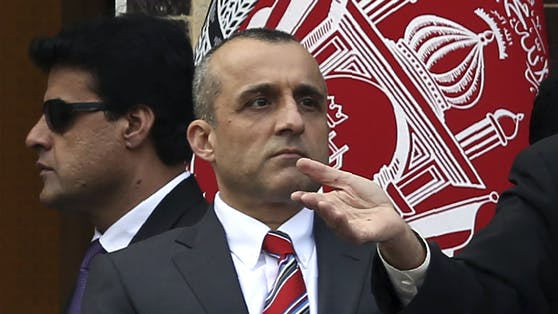 Afghanistans Vizepräsident Amrullah Saleh