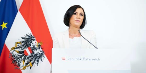 Landwirtschafts- und Tourismusministerin Elisabeth Köstinger (ÖVP) schießt scharf gegen Wiens Bürgermeister Michael Ludwig (SPÖ).