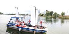 Impfboot auf Alter Donau stach erst 23 Mal zu